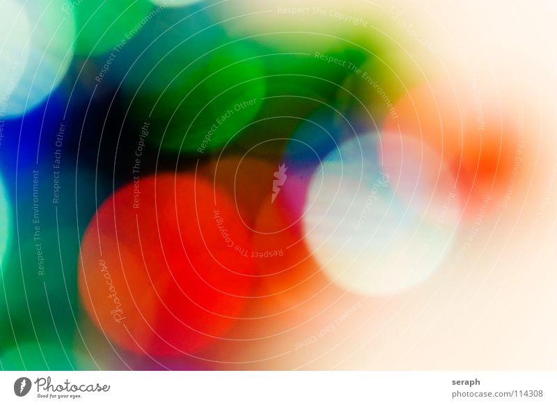 Spots Farbe Beleuchtung Hintergrundbild Kunst glänzend leuchten Kreis weich rund Punkt erleuchten Fleck gepunktet Farbfleck gefleckt Lichtschein