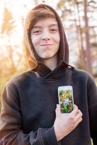 Virtual Reality IV Mensch Kind Jugendliche Junger Mann Gefühle Stil Glück lachen Lifestyle Kopf maskulin Design 13-18 Jahre Fröhlichkeit Technik & Technologie