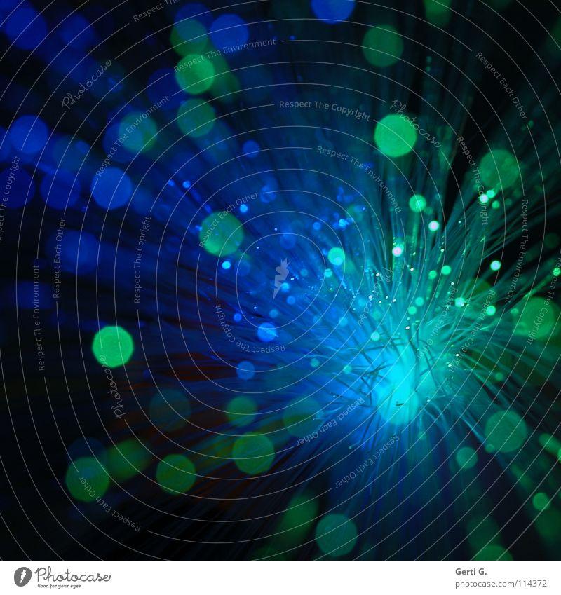 lightcum grün blau Farbe Spielen hell Feste & Feiern glänzend klein groß Technik & Technologie rund Silvester u. Neujahr Dekoration & Verzierung Weltall Feuerwerk Kunststoff