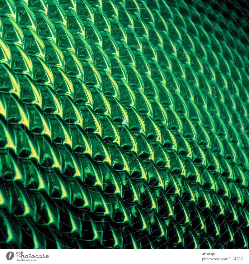 Groen Strukturen & Formen Oberfläche Muster Glätte Geometrie Farbverlauf Verlauf glänzend Bruch Hintergrundbild Ecke Zeile Gift grün weiß schwarz dunkel