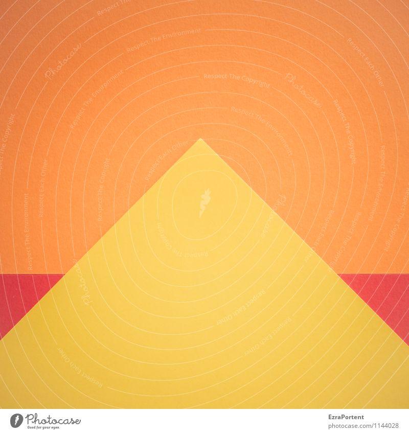 Weltkulturerbe II Design Basteln Ferien & Urlaub & Reisen Tourismus Häusliches Leben Wohnung Haus Zeichen Linie ästhetisch mehrfarbig gelb orange rot Farbe