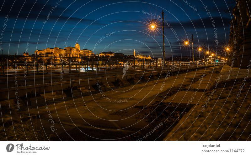 budapest at night Lifestyle Freude Freizeit & Hobby Ferien & Urlaub & Reisen Tourismus Sightseeing Städtereise Budapest Ungarn Europa Stadt Hauptstadt
