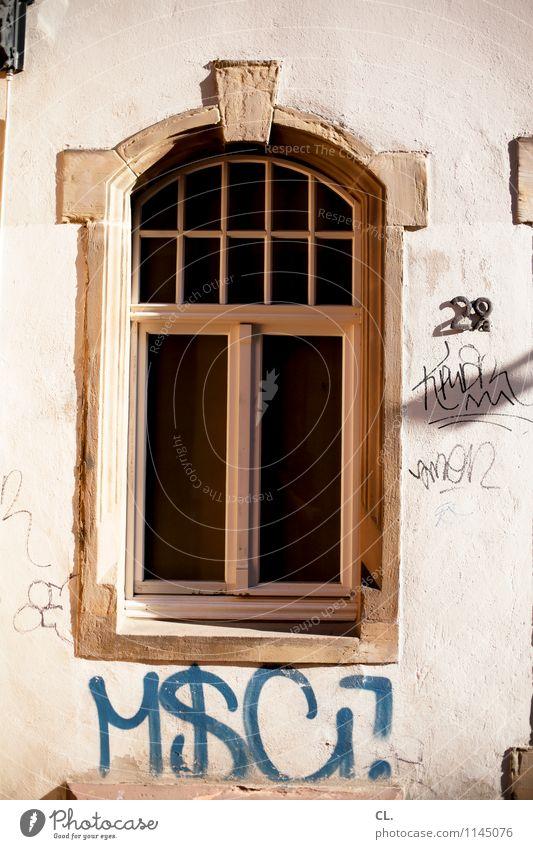 29a alt Haus Fenster Wand Graffiti Mauer Häusliches Leben dreckig Schönes Wetter Hausnummer