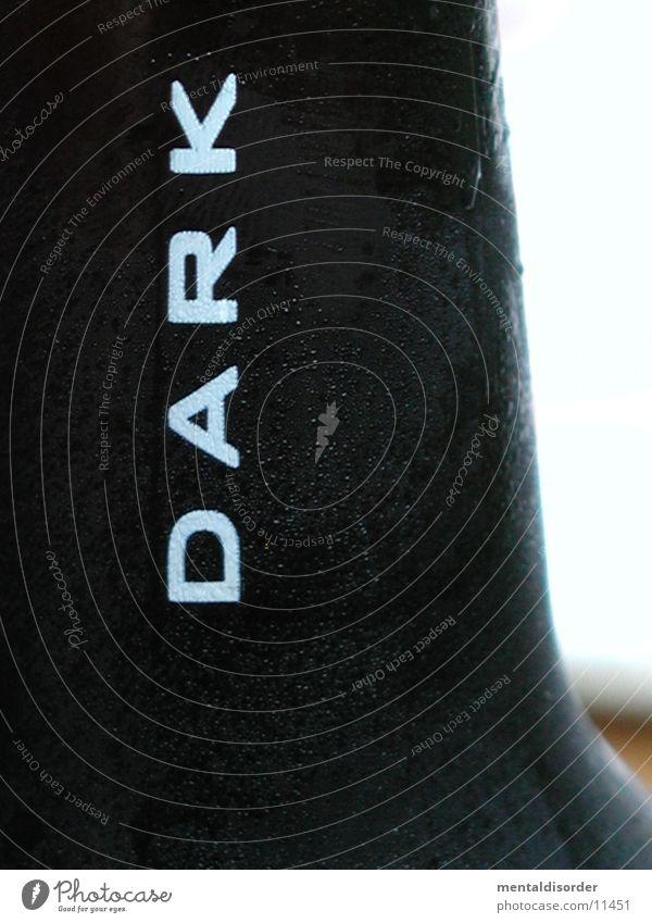 *dark schwarz dunkel kalt 4 Bier Flasche Alkohol Ostfriesland Jever