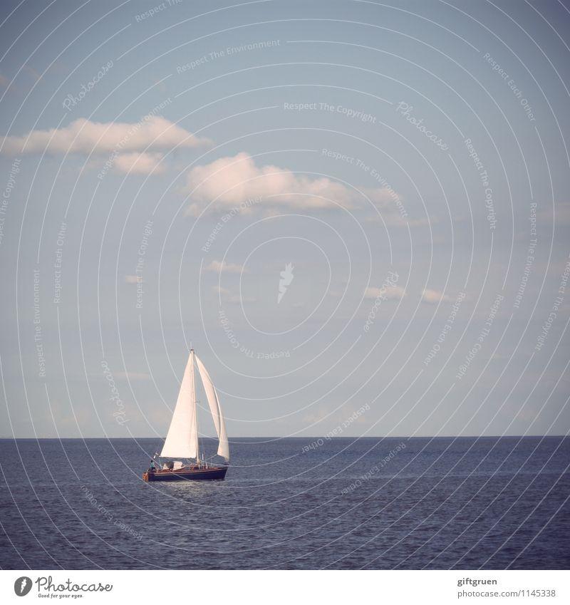 weltenbummler Himmel Natur Ferien & Urlaub & Reisen Sommer Wasser Sonne Erholung Meer Landschaft Wolken Freude Umwelt Sport Freizeit & Hobby Wellen