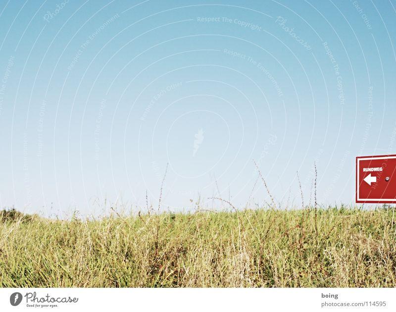 Wiesenwegbeschreibung wandern Richtung gehen Joggen Süden Himmelsrichtung Marathon Navigation Navigationssystem Spielen Wege & Pfade laufen Norden Wegweiser