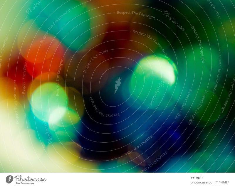 Spots Farbe Beleuchtung Hintergrundbild Kunst glänzend leuchten Kreis weich Punkt erleuchten Fleck gepunktet Farbfleck gefleckt Lichtschein