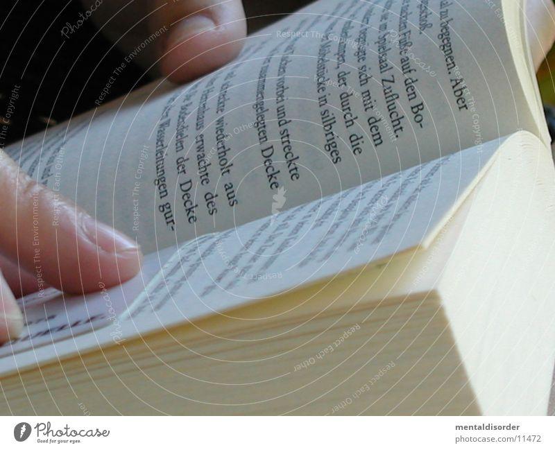 Lesen Buch Wort Buchstaben Finger Lesezeichen Freizeit & Hobby Seite