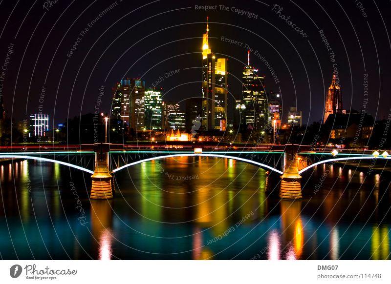 Skyline Mainhattan Stadt Gefühle Stil Lifestyle Feste & Feiern Stimmung Kraft Musik Erfolg Macht Veranstaltung Verkehrswege Reichtum Frankfurt am Main