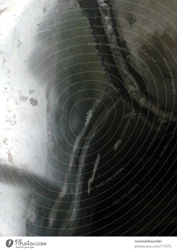 Verbindungen glänzend silber Regenrinne