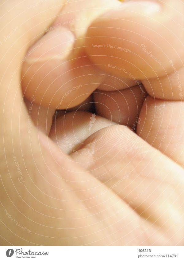 UNTITLED Haut Mensch Mann Erwachsene Hand Finger Schnecke Toleranz Handfläche Furche Fingernagel zusammengerollt Riss Blattadern Rolle Sprache Tierhaut Farbfoto
