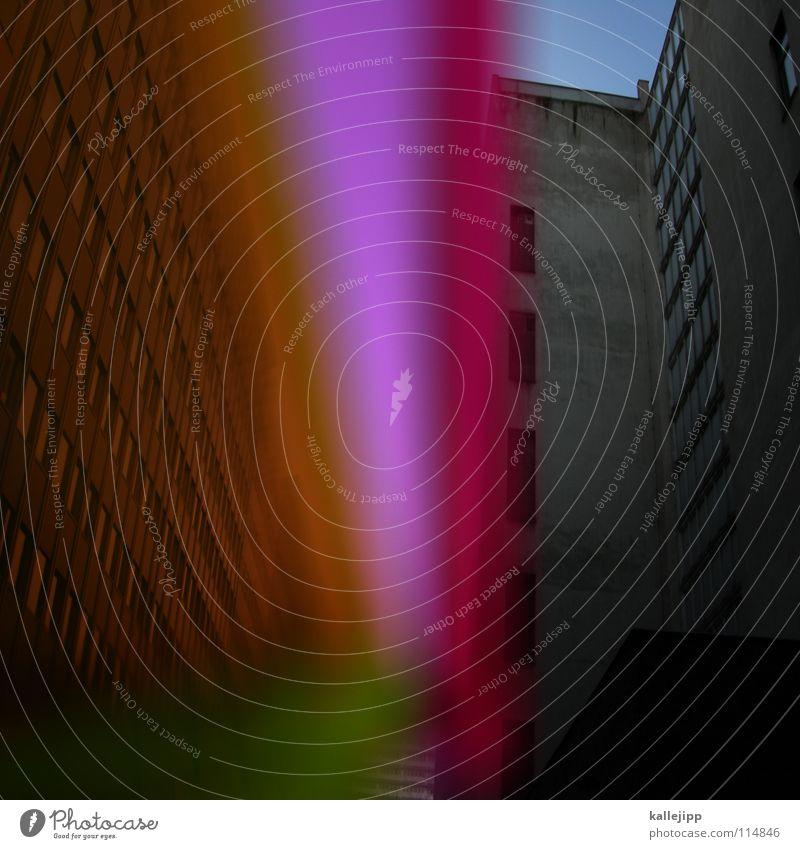 plattenkratzer Himmel Stadt Pflanze Blume Haus Farbe Wand Fenster Architektur Lampe Beleuchtung Raum Glas rosa leer Ecke