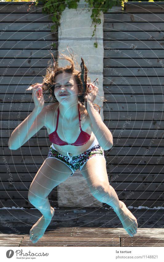 priceless Schwimmen & Baden Sport tauchen Mensch feminin Leben 1 wild springen ästhetisch außergewöhnlich authentisch Glück lustig nass mehrfarbig Fröhlichkeit