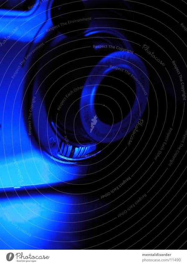 ZOOOOM blau Fotografie Fotokamera Entertainment Digitalfotografie
