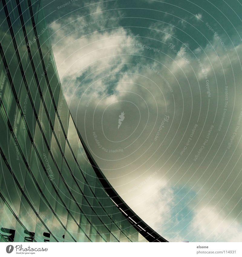 ::DREIECK:: Haus Fenster rund aufsteigen modern Glas scheibe.schräg neu Neigung Architektur