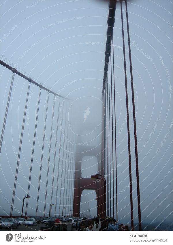 Golden Gate Bridge San Francisco rot Kalifornien Brücke USA Architektur