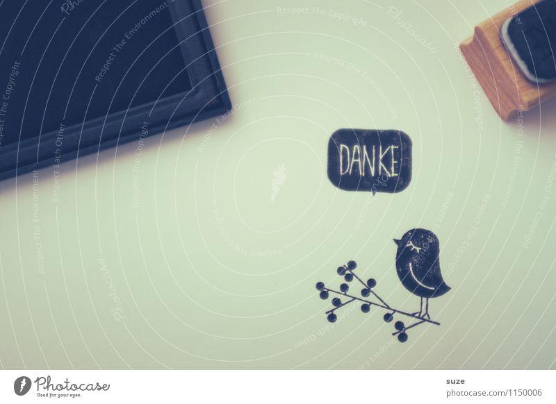Pechvogel Glück Freizeit & Hobby Basteln Medien Vogel Schreibwaren Papier Stempel Liebe einfach klein niedlich schwarz Stimmung Ehrlichkeit Trauer Liebeskummer