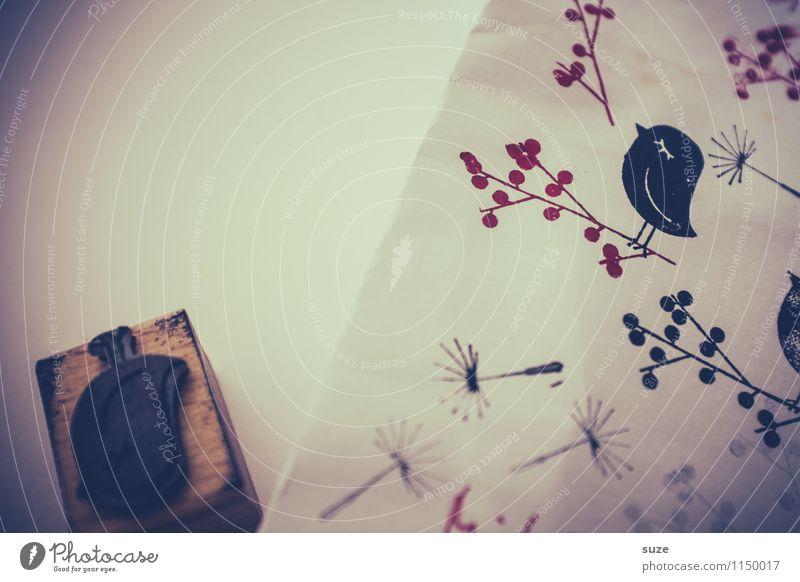 Schmierfink Tier schwarz lustig Stil Glück klein Lifestyle Stimmung Vogel Freizeit & Hobby Design dreckig Kreativität Beginn einfach Idee