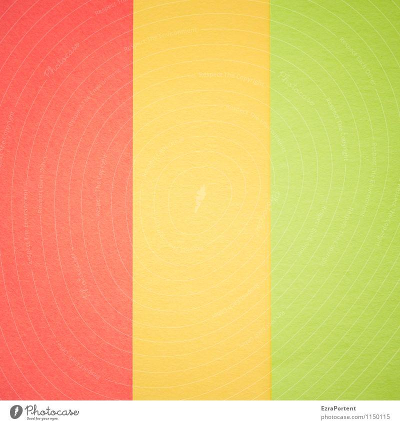 R|G|G Design Basteln Linie ästhetisch hell mehrfarbig gelb grün rot Farbe Grafik u. Illustration Grafische Darstellung graphisch Hintergrundbild