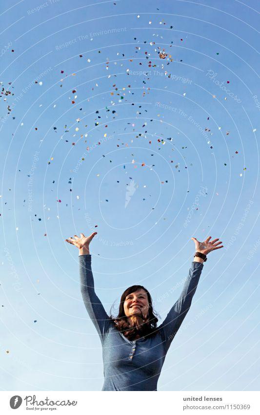 AKDR# Konfetti Land V Freude Glück klein Kunst Horizont Design Kreativität Idee einzigartig Pause Hoffnung viele Frieden Karneval Surrealismus Inspiration