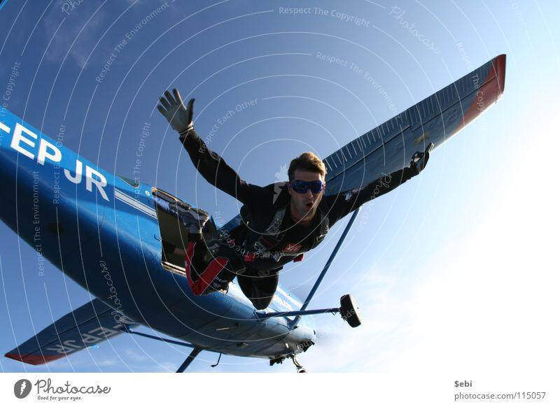 Skydive Exit Freizeit & Hobby Flugsportarten Fallschirm Fallschirmspringen