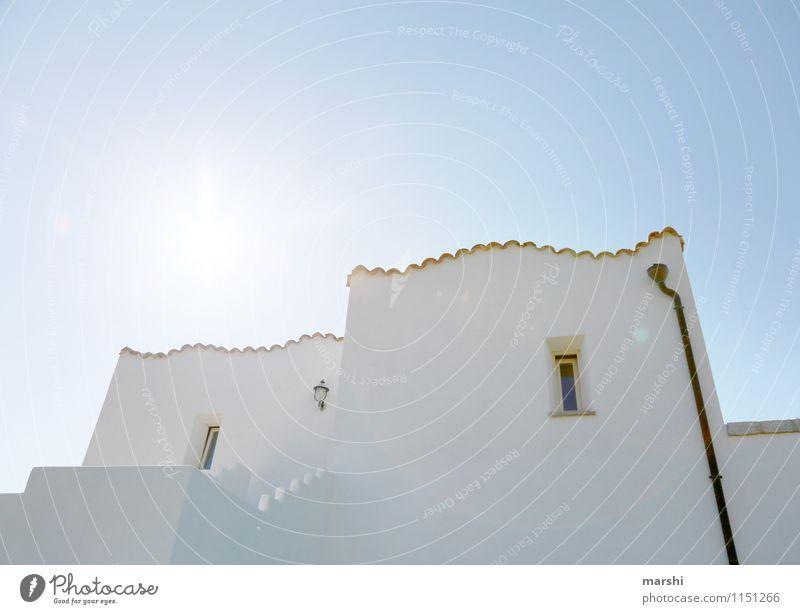 sardisch Wohnen Ferien & Urlaub & Reisen Himmel (Jenseits) weiß Haus Reisefotografie Architektur Stimmung Häusliches Leben Freizeit & Hobby Hotel Sardinien