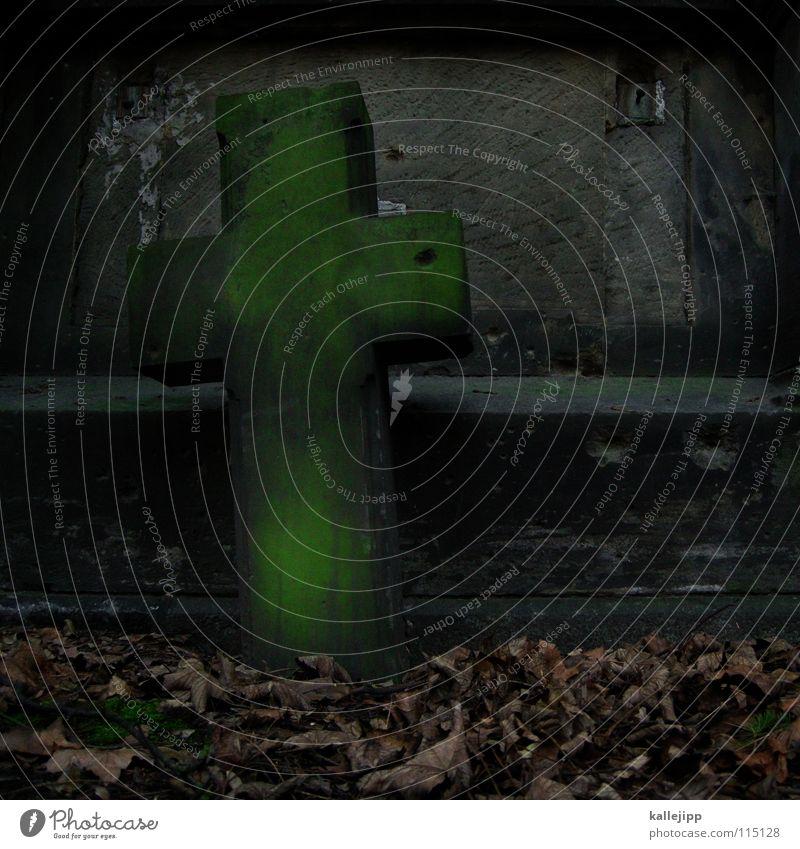 † Tod grau Stein Religion & Glaube Nebel Rücken Hoffnung Trauer Elektrizität Vergänglichkeit gruselig Verzweiflung heilig Geister u. Gespenster Zerstörung