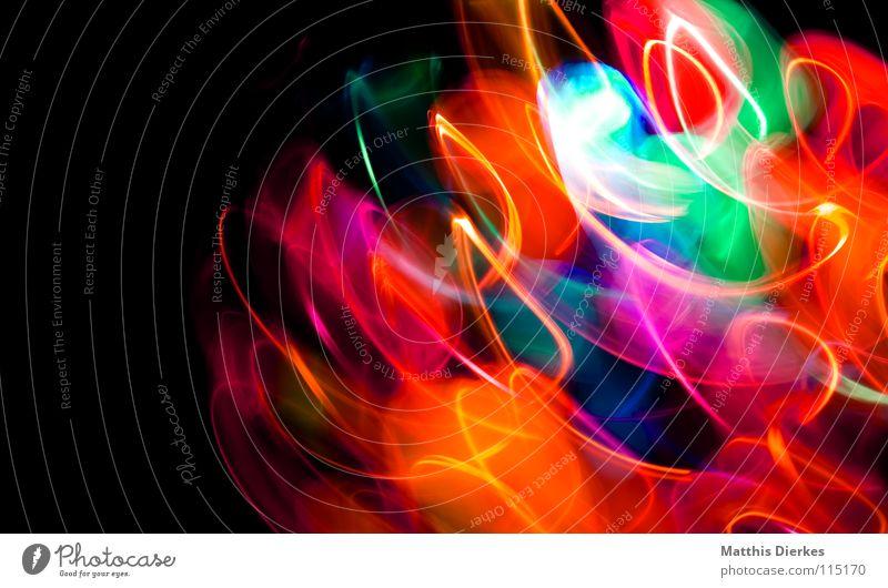 Disko Farbe Freude Traurigkeit Beleuchtung Hintergrundbild Lampe glänzend leuchten Erde hoch Geschwindigkeit Telekommunikation Kreis Flugzeug Weltall