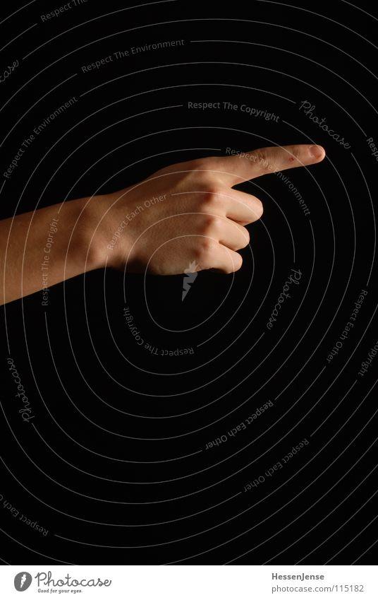 Der Weg ist das Ziel Hand Einsamkeit Wege & Pfade Arme Erfolg Finger Flüssigkeit Mut Richtung führen Wegweiser Moral fokussieren Sackgasse