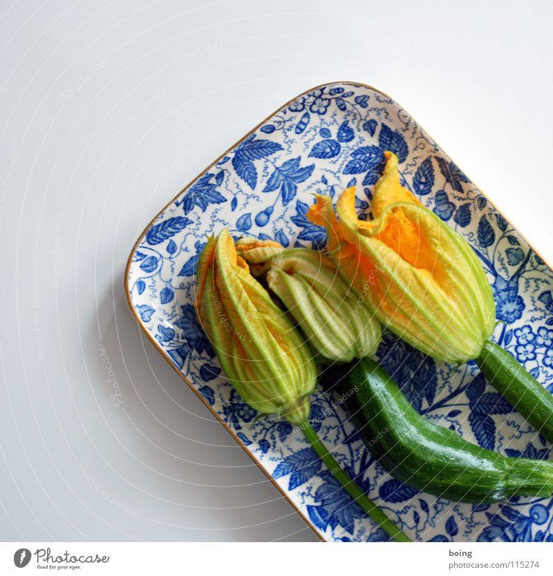 gefüllte Blumen - fleur surprise Blume Blüte Garten geschlossen Kochen & Garen & Backen Küche Gemüse Gastronomie Geschirr mediterran Delikatesse überwintern Zucchini