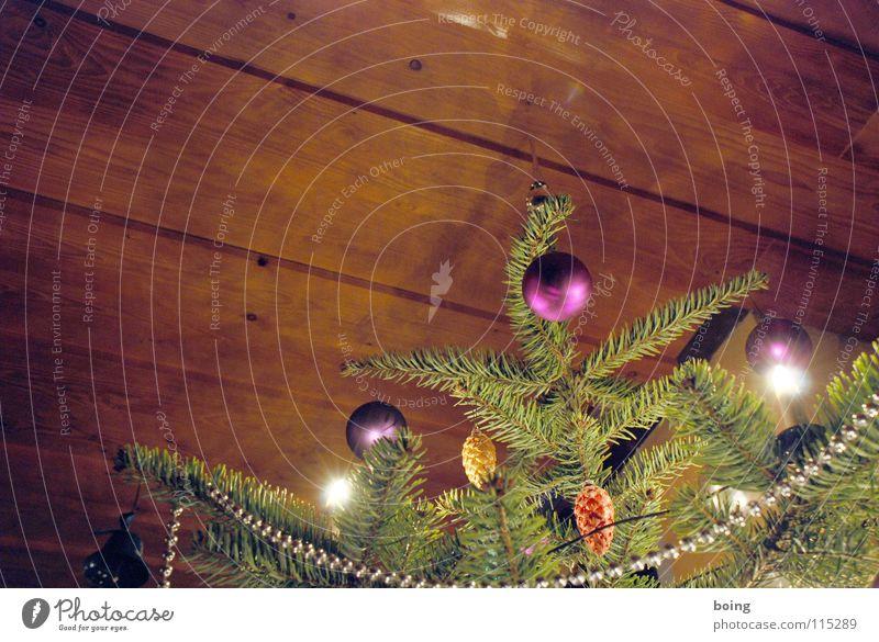 Last Christmas Hochmut geschmückt stachelig Weihnachten & Advent Weihnachtsmarkt Weihnachtsbaum Fichte Baumschmuck Christbaumkugel Zapfen Glocke Berghütte