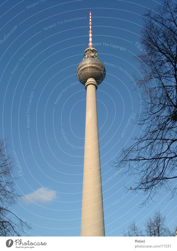 Standfest Berlin Architektur Turm Berliner Fernsehturm Alexanderplatz