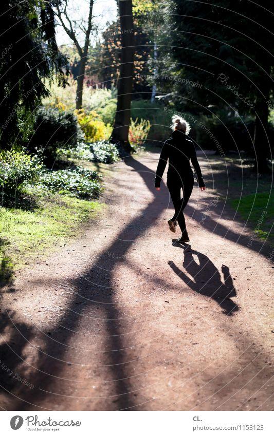 tanz in den mai Mensch Frau Natur Baum Landschaft Freude Wald Erwachsene Umwelt Leben Gefühle Bewegung feminin lustig Wege & Pfade Glück