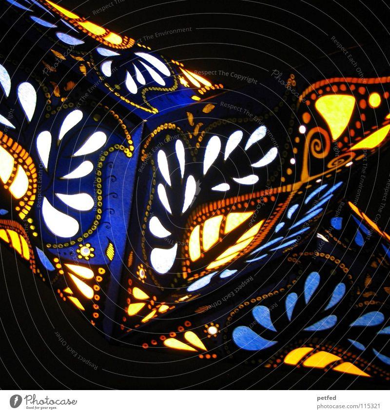 Stern auf den ich schaue...II Farbe dunkel hell Stimmung Stern (Symbol) Hoffnung Kerze Laterne Lampion Weihnachtsdekoration mehrfarbig Retter