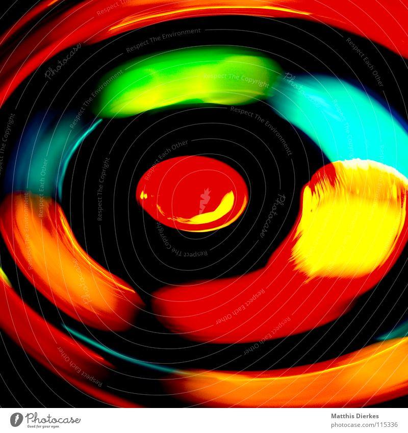 Hypnose Licht Lichtspiel Lichterkette Stativ Langzeitbelichtung Strahlung Kurve Bilanz Statistik Verlauf Spuren tief Geschwindigkeit kreisen Konjunktur