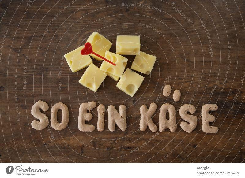 SO EIN KÄSE rot gelb Essen braun Lebensmittel Ernährung Herz Idee Bioprodukte Frühstück Schweiz Loch Sorge Abendessen Diät Picknick