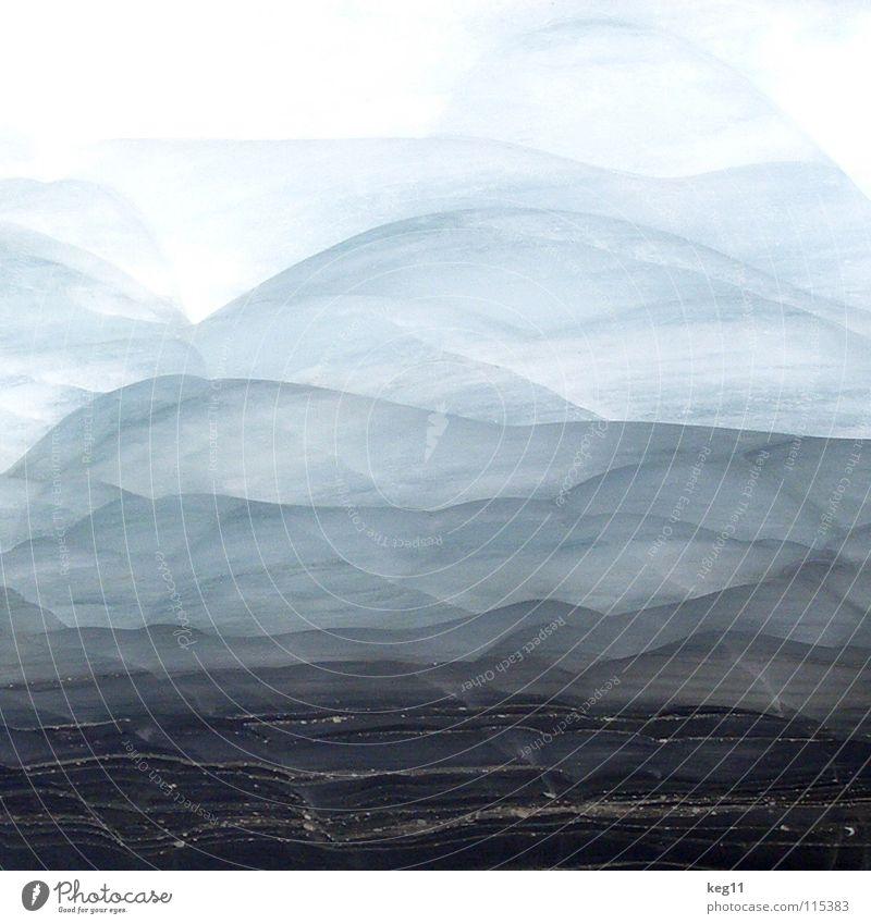 schneegeschichte... weiß Winter schwarz Schnee Berge u. Gebirge Eis Wellen Felsen Klima Alpen Spitze Desaster Österreich Gletscher Spalte Höhle