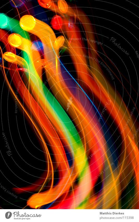 Disko Farbe Freude Traurigkeit Beleuchtung Hintergrundbild Lampe glänzend leuchten Erde hoch Geschwindigkeit Kreis Flugzeug Weltall Symbole & Metaphern Glaube