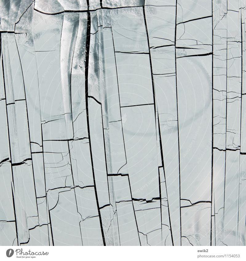 Nach der Dürre alt Linie Textfreiraum Vergänglichkeit kaputt Kunststoff verfallen Teile u. Stücke Riss Zerstörung Kunstwerk Schaden verlieren dehydrieren