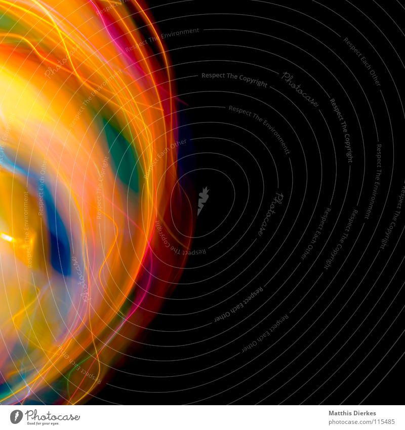 Flamme Farbe Freude Traurigkeit Beleuchtung Hintergrundbild Party Lampe glänzend leuchten Erde hoch Geschwindigkeit Kreis Flugzeug Weltall Symbole & Metaphern
