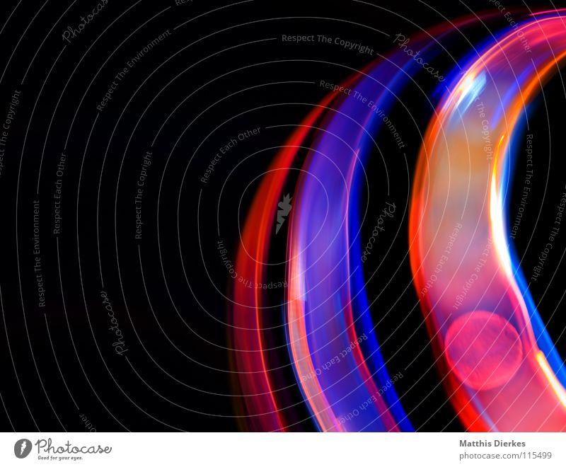 Halbkreis Farbe Freude Traurigkeit Beleuchtung Hintergrundbild Lampe glänzend leuchten Erde hoch Geschwindigkeit Kreis Flugzeug Weltall Symbole & Metaphern