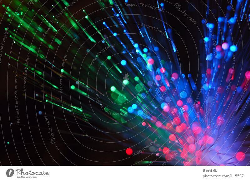 sprüh*licht grün blau rot Spielen hell Feste & Feiern glänzend klein rosa groß Technik & Technologie rund Silvester u. Neujahr Dekoration & Verzierung Weltall