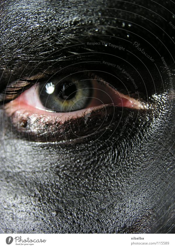 Herr G. Mensch Mann blau grün schön Farbe Gesicht Erwachsene Ferne Auge dunkel kalt grau Kraft dreckig Haut