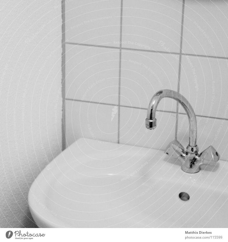 Waschbecken Bad Badematte Teppich Handtuch Physik Stoff Fleece grau schwarz braun gelb Muster eckig Erholung Vorbereitung Ferien & Urlaub & Reisen