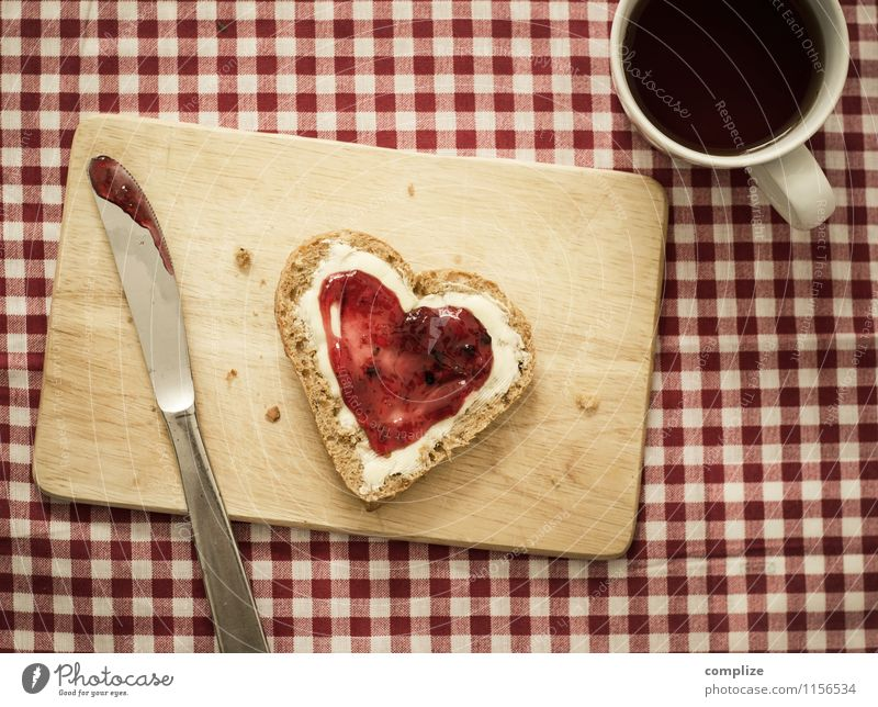 der Morgen danach! Erotik Freude Liebe Essen Glück Lebensmittel Lifestyle Zufriedenheit Ernährung Getränk Herz Zeichen Romantik retro Kaffee Kitsch