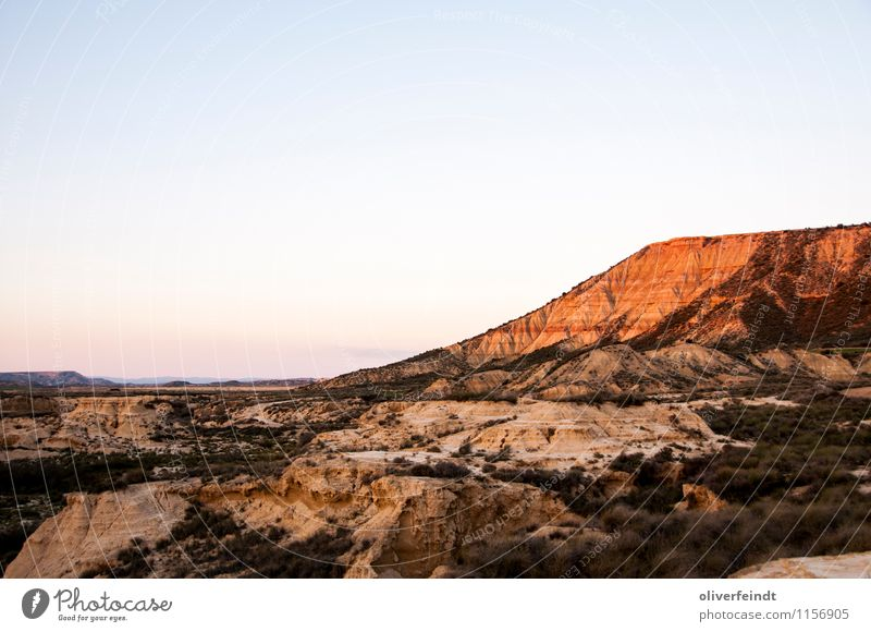 Spanien X Ausflug Abenteuer Ferne Freiheit Sommerurlaub Umwelt Natur Landschaft Urelemente Erde Sand Himmel Wolkenloser Himmel Horizont Sonnenaufgang