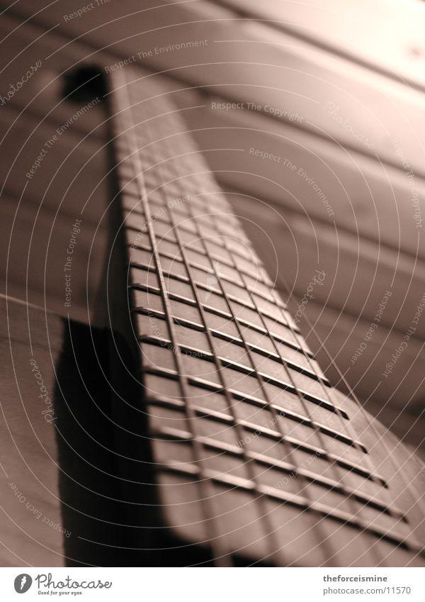 Sepia Gitarre Dinge Gitarre Musikinstrument Saite Sepia