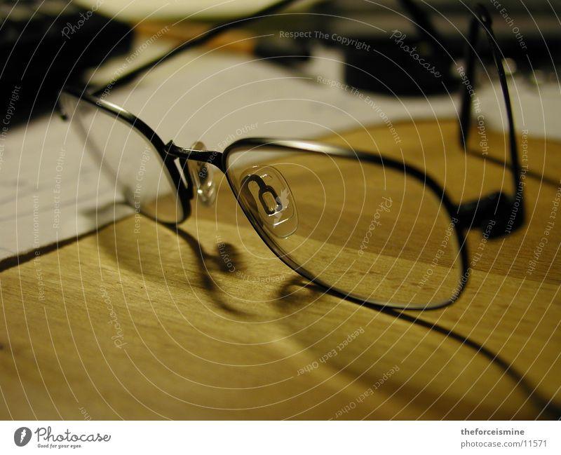 Brille Dinge Schreibtisch