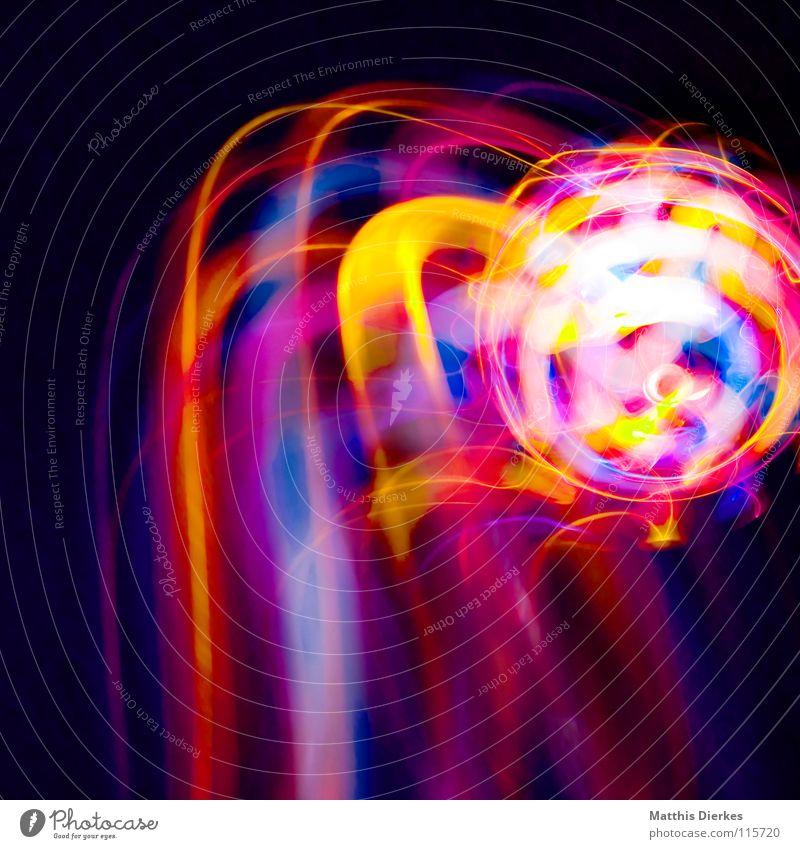 Komet Farbe Freude Traurigkeit Beleuchtung Hintergrundbild Party Lampe glänzend leuchten Erde hoch Geschwindigkeit Kreis Flugzeug Weltall Symbole & Metaphern