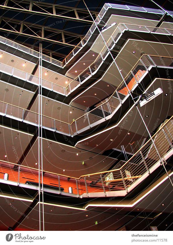 Theater am Potsdamer Platz Innenarchitektur Etage Architektur modern Niveau Treppe konstruiert